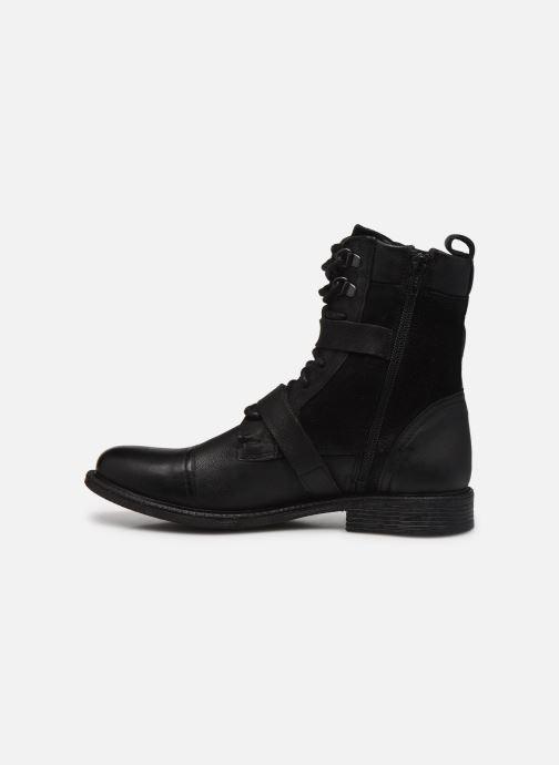 Bottines et boots Levi's Maine W Trk Noir vue face