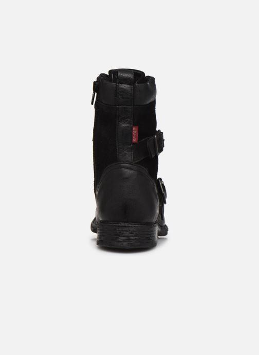 Bottines et boots Levi's Maine W Trk Noir vue droite