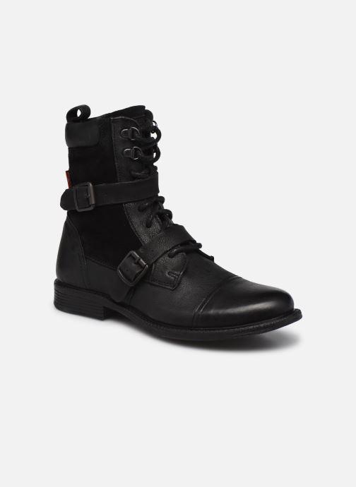 Bottines et boots Levi's Maine W Trk Noir vue détail/paire