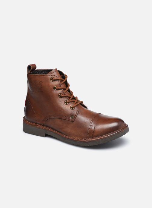 Bottines et boots Levi's Track 1 Marron vue détail/paire