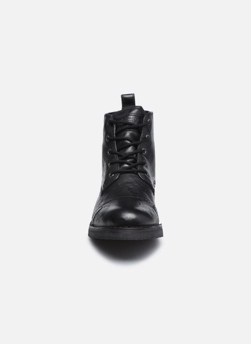 Bottines et boots Levi's Track 1 Noir vue portées chaussures