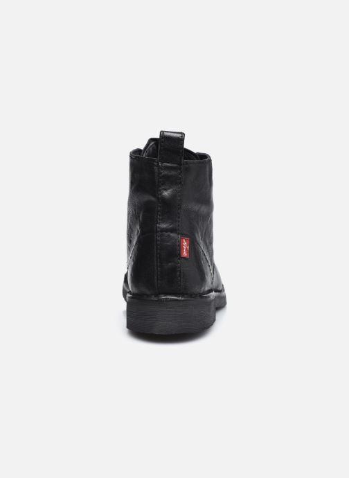 Bottines et boots Levi's Track 1 Noir vue droite