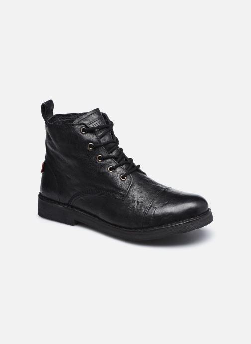 Boots en enkellaarsjes Levi's Track 1 Zwart detail