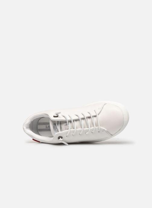 Sneaker Levi's Vernon S 2 weiß ansicht von links