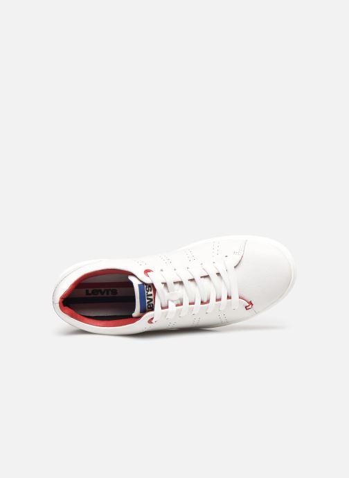 Deportivas Levi's Vernon Sportwear S. Blanco vista lateral izquierda