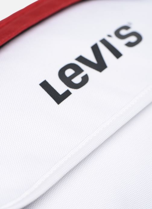 Portemonnaies & Clutches Levi's Bigger Banana Sling Color Block weiß ansicht von links