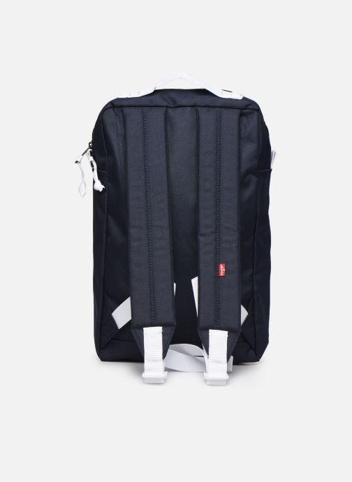 Mochilas Levi's Levi'S® L Pack Slim Mini (Red Batwing) Azul vista de frente