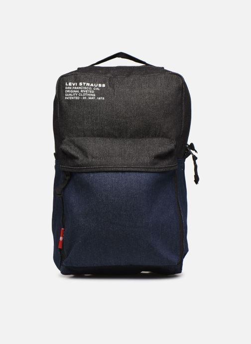 Mochilas Levi's The Levi'S L Pack Standard Issue Denim Azul vista de detalle / par
