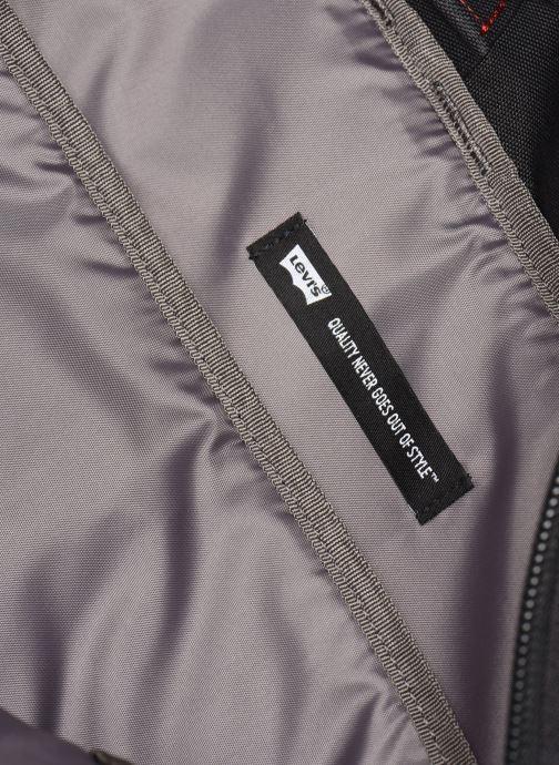 Rucksäcke Levi's The Levi'S® L Pack Twill Tape schwarz ansicht von hinten