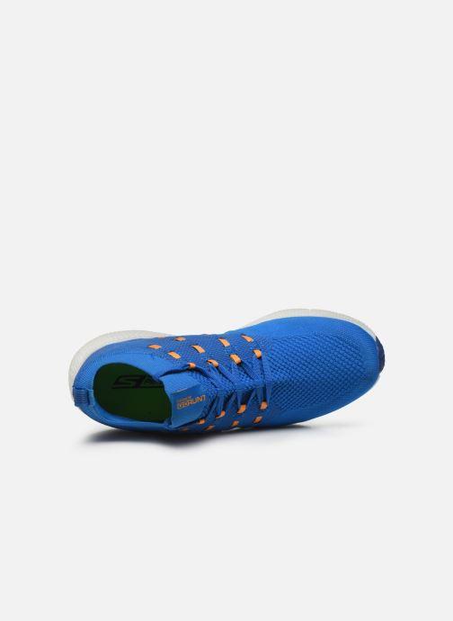 Scarpe sportive Skechers Go Run 7 Azzurro immagine sinistra