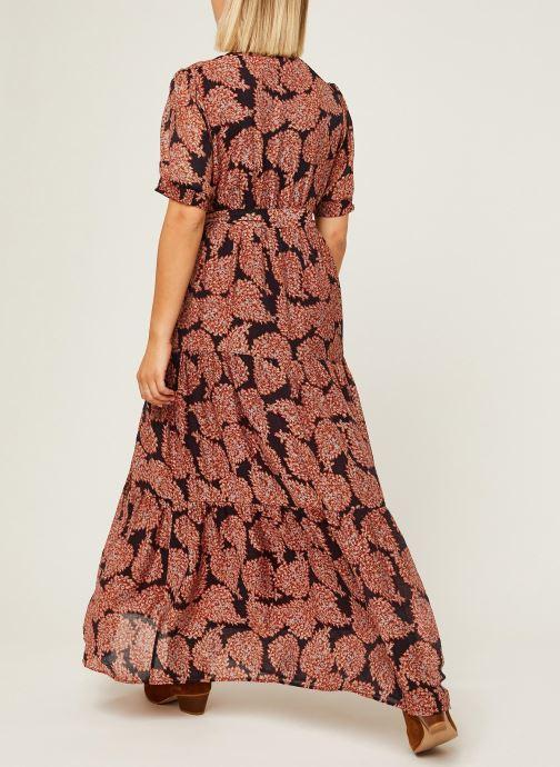 Vêtements See u soon Robe 20122508 Orange vue portées chaussures