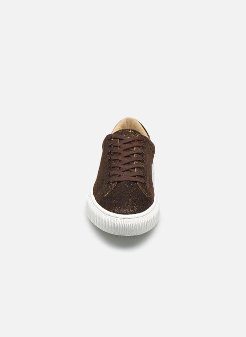 Sneaker Canal St Martin PARODI braun schuhe getragen