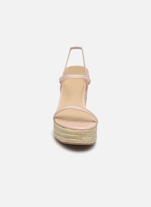 Espadrilles Steve Madden Skylight Beige vue portées chaussures