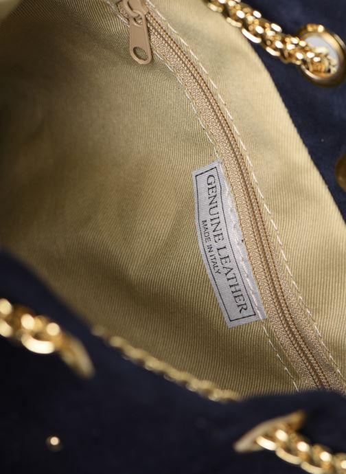 Sacs à main Georgia Rose Marti Leather Bleu vue derrière