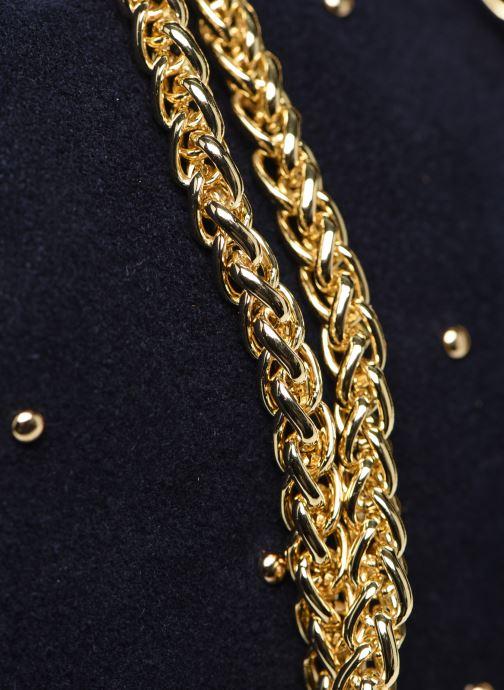 Sacs à main Georgia Rose Marti Leather Bleu vue gauche