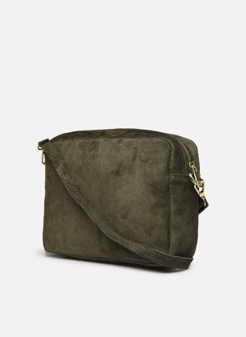 Handbags Georgia Rose Maro Leather Green view from the right