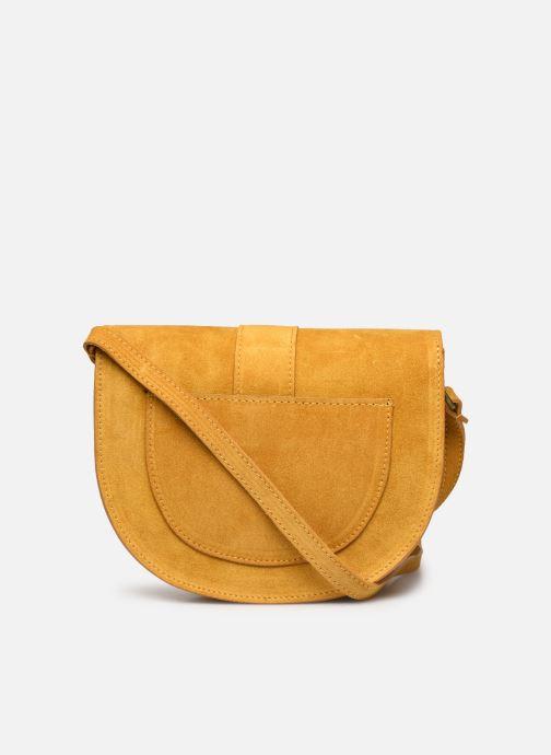 Bolsos de mano Georgia Rose Mori Leather Amarillo vista de frente