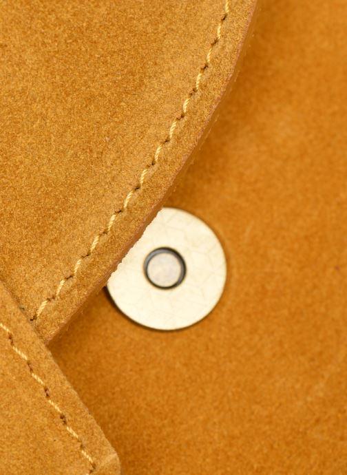 Bolsos de mano Georgia Rose Mori Leather Amarillo vista lateral izquierda