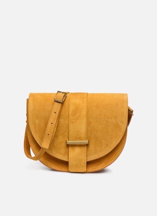 Bolsos de mano Georgia Rose Mori Leather Amarillo vista de detalle / par