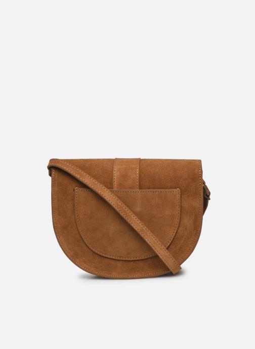 Handtaschen Georgia Rose Mori Leather braun ansicht von vorne