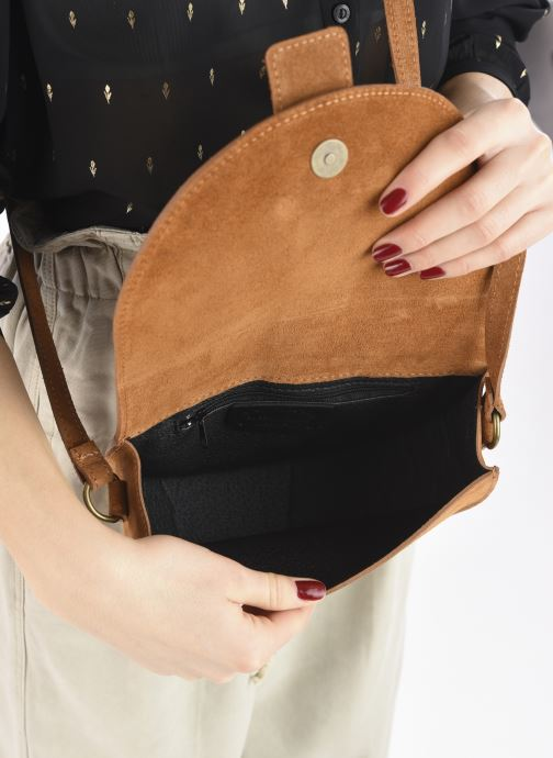Sacs à main Georgia Rose Mori Leather Marron vue derrière