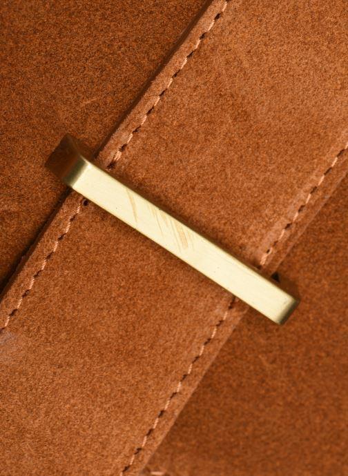 Sacs à main Georgia Rose Mori Leather Marron vue gauche