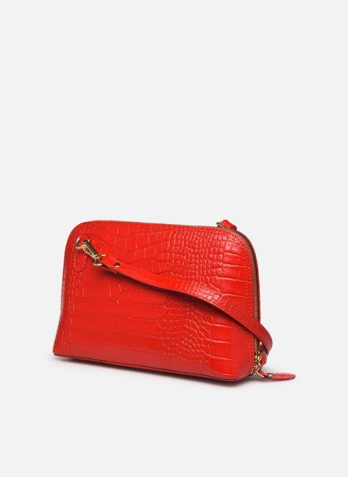 Borse Georgia Rose Malta Leather Rosso immagine destra