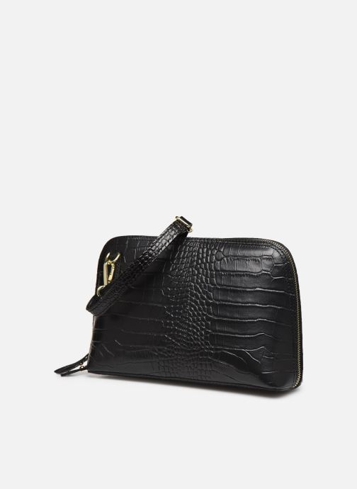 Bolsos de mano Georgia Rose Malta Leather Negro vista del modelo