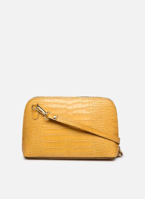 Bolsos de mano Georgia Rose Malta Leather Amarillo vista de frente