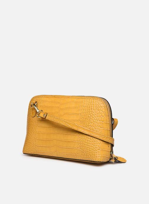 Bolsos de mano Georgia Rose Malta Leather Amarillo vista lateral derecha