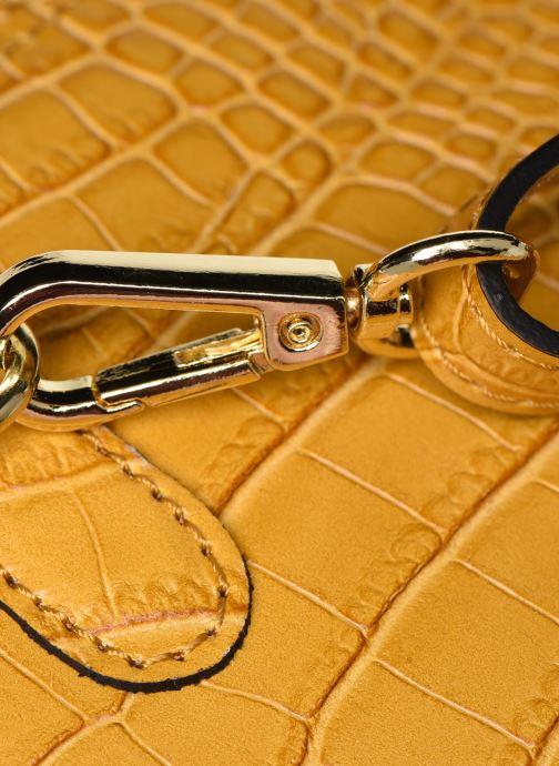 Bolsos de mano Georgia Rose Malta Leather Amarillo vista lateral izquierda