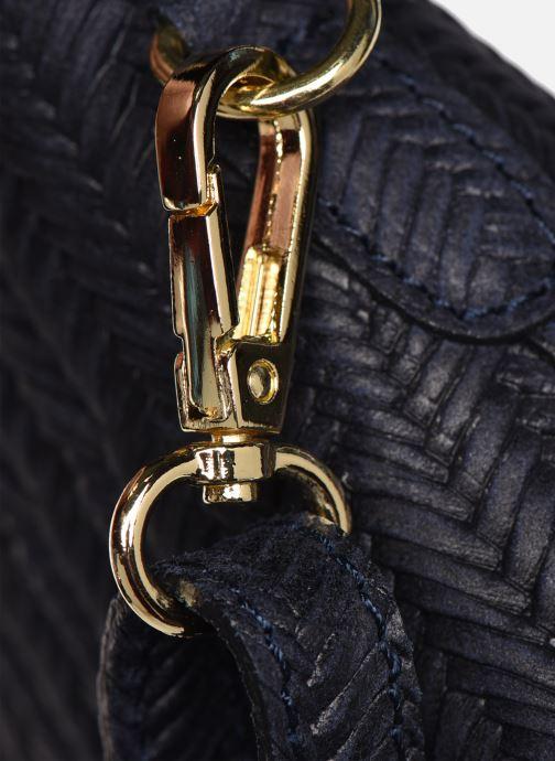 Sacs à main Georgia Rose Malta Leather Bleu vue gauche