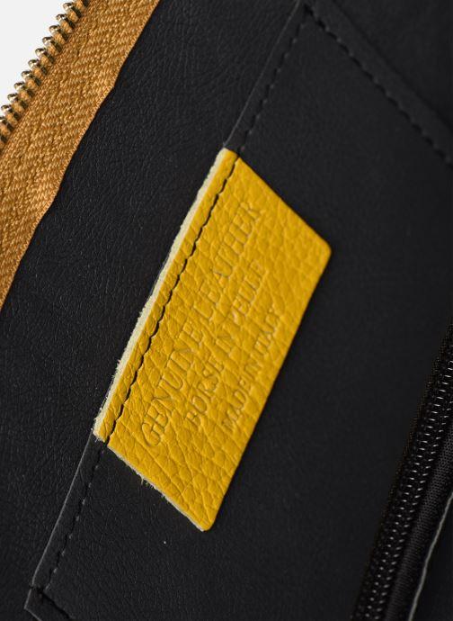 Bolsos de mano Georgia Rose Malta Leather Oro y bronce vistra trasera