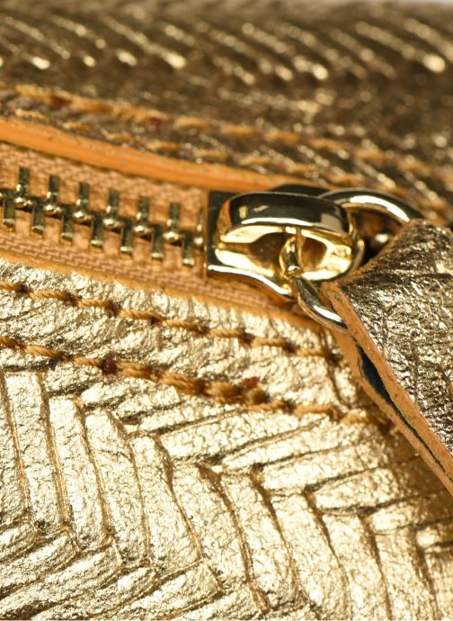 Bolsos de mano Georgia Rose Malta Leather Oro y bronce vista lateral izquierda