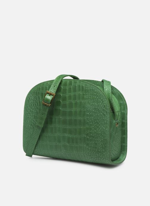 Bolsos de mano Georgia Rose Mirot Leather Verde vista del modelo