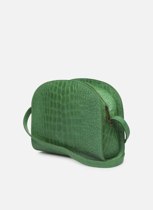 Bolsos de mano Georgia Rose Mirot Leather Verde vista lateral derecha