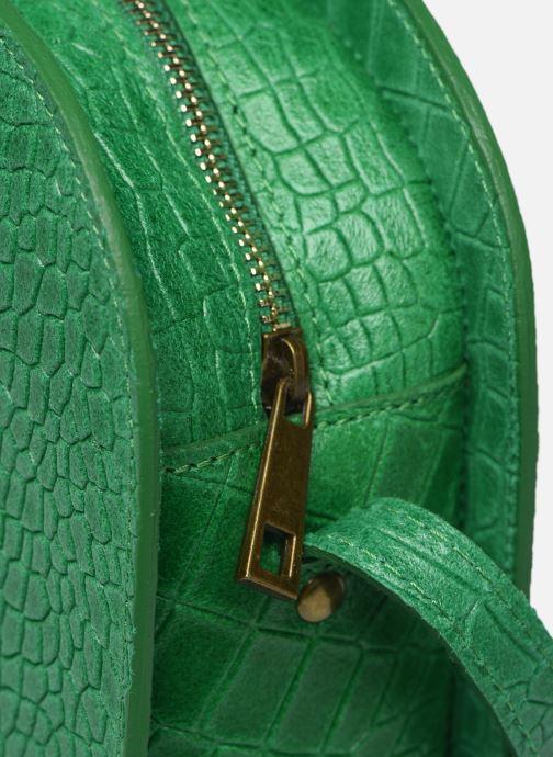 Bolsos de mano Georgia Rose Mirot Leather Verde vistra trasera