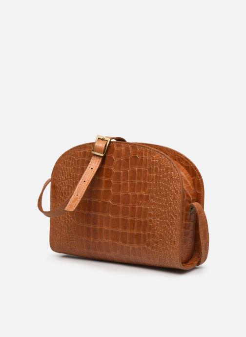 Handtaschen Georgia Rose Mirot Leather braun schuhe getragen