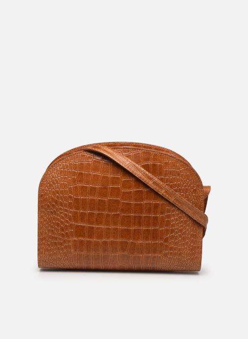 Bolsos de mano Georgia Rose Mirot Leather Marrón vista de frente