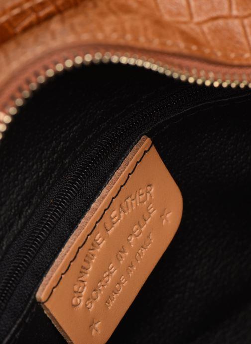 Bolsos de mano Georgia Rose Mirot Leather Marrón vistra trasera