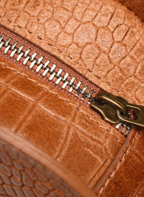 Bolsos de mano Georgia Rose Mirot Leather Marrón vista lateral izquierda