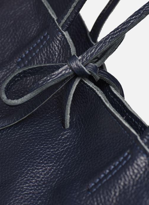 Borse Georgia Rose Miki Leather Azzurro immagine sinistra