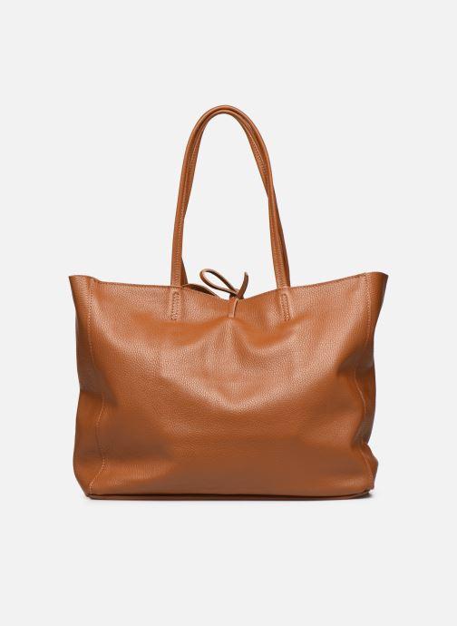Håndtasker Georgia Rose Miki Leather Brun se forfra