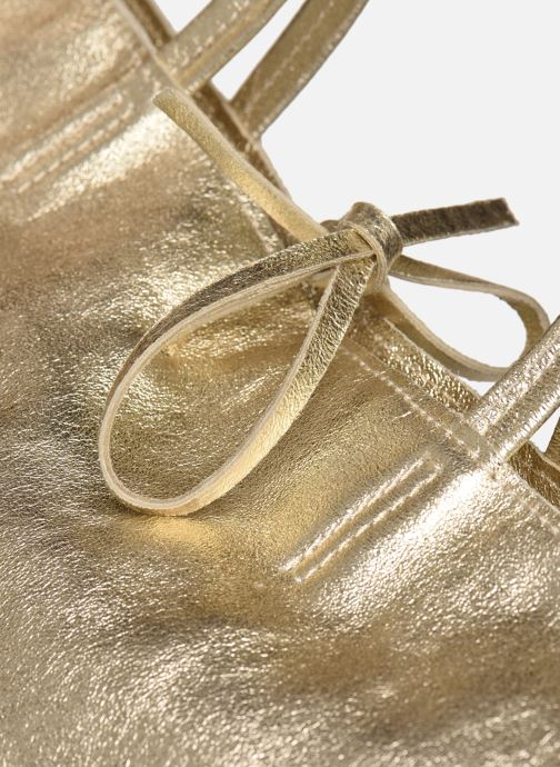 Sacs à main Georgia Rose Miki Leather Or et bronze vue gauche
