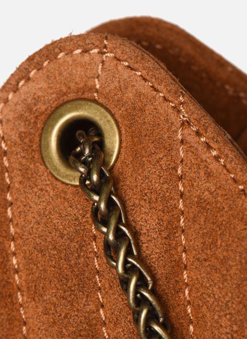 Bolsos de mano Georgia Rose Marco Leather Marrón vista lateral izquierda