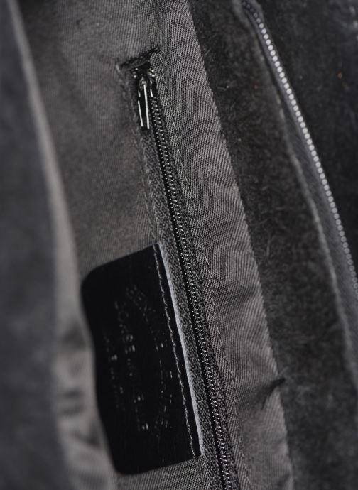 Bolsos de mano Georgia Rose Marco Leather Negro vistra trasera