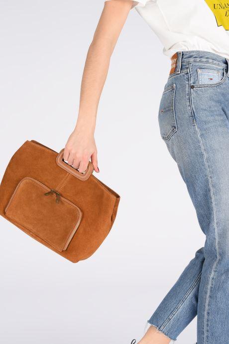 Handtassen Georgia Rose Mina Leather Bruin onder