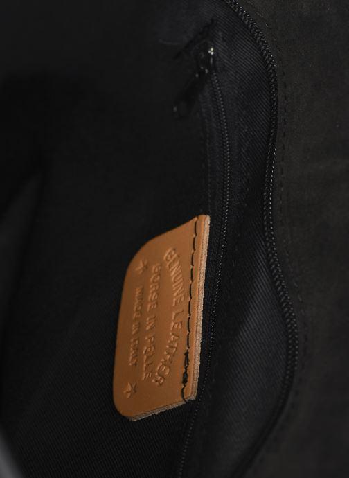 Borse Georgia Rose Mina Leather Nero immagine posteriore