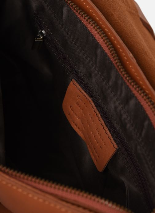 Borse Georgia Rose Mulan Leather Marrone immagine posteriore
