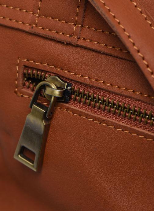 Borse Georgia Rose Mulan Leather Marrone immagine sinistra